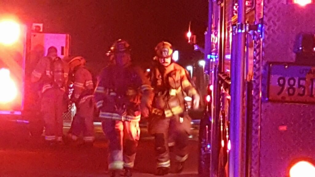 Fire crews battled a blaze at a storage facility in Ogden Thursday evening which caused $60000 in damages officials said. Photo Gephardt Daily/Nancy Van ... & Blaze at storage unit in Ogden causes $60K in damages | Gephardt Daily