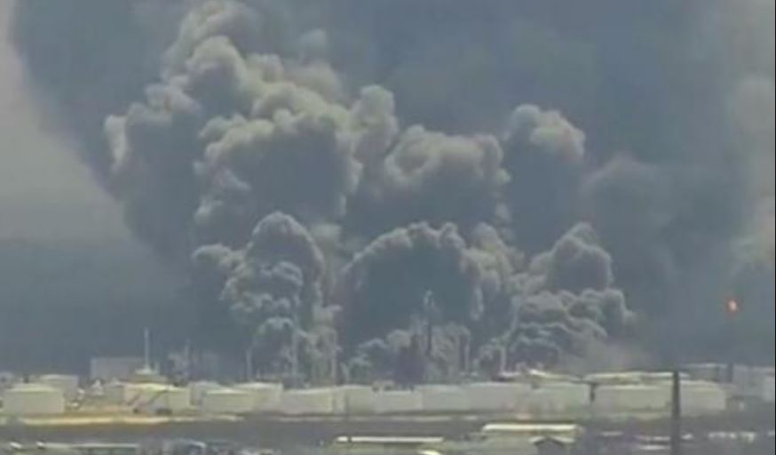 Evacuation Order Issued After Explosion At Superior Oil Refinery
