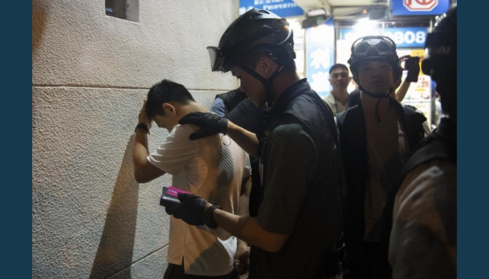 13 Injured As Police Deploy Tear Gas In Hong Kong Protests