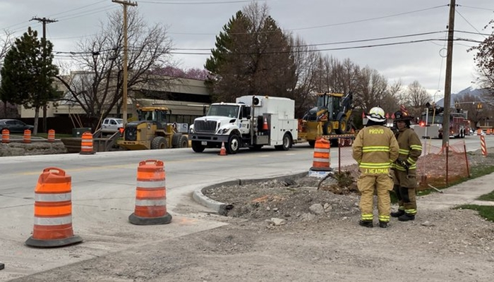 Crews Working To Repair Gas Leak In Provo Gephardt Daily