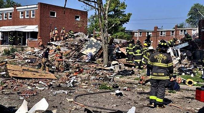 baltimore explosion - photo #1