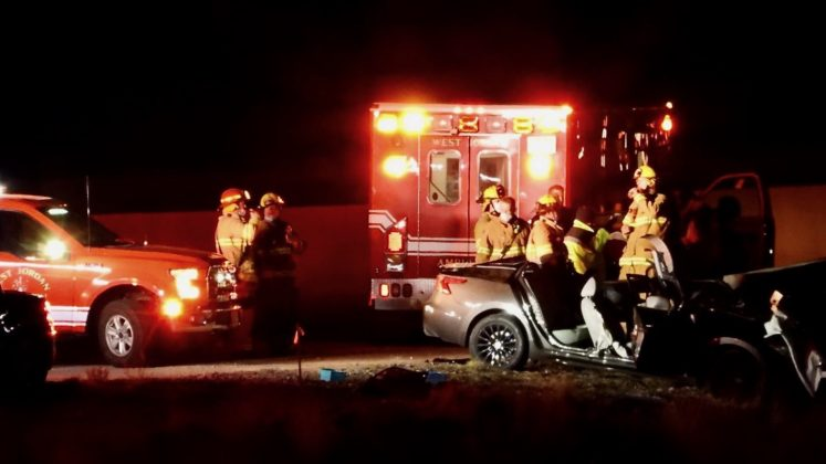 Driver critically injured in S. Mountain View Corridor crash