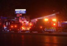 Sandy Motel Fire