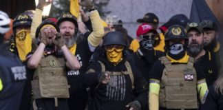 Proud Boys leader arrested in D.C.