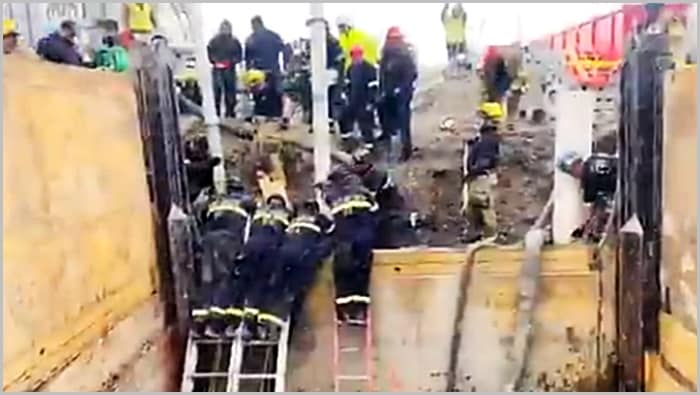 Construction worker saved in Riverton trench collapse; rescue 'nothing short of a miracle' | Gephardt Daily