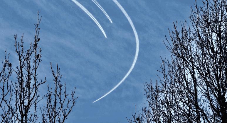 Stealth Bombers Over Utah