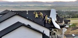 Plane Crashes Into Home